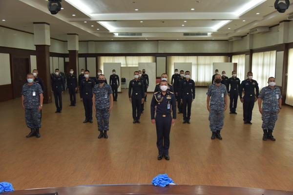 พิธีเปิดการอบรมข้าราชการ ทหารบรรจุใหม่