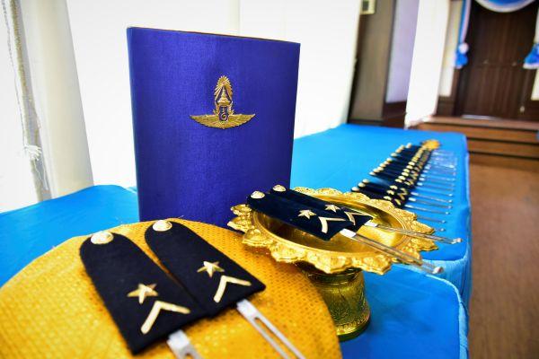 กองบิน ๒๑ จัดพิธีประดับเครื่องหมายยศนายทหารชั้นประทวน