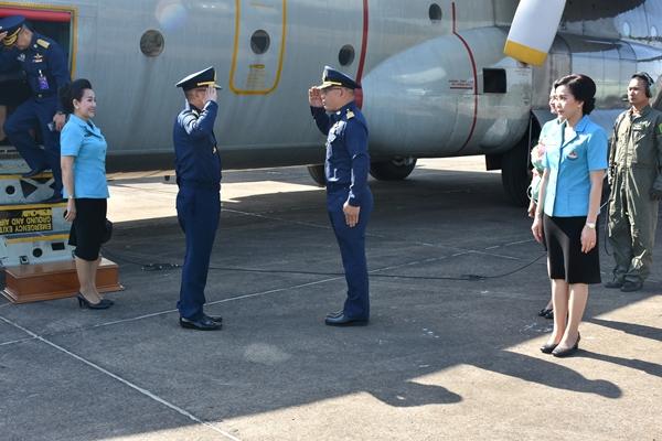 ผู้บัญชาการทหารอากาศ ตรวจเยี่ยมกองบิน ๒๑