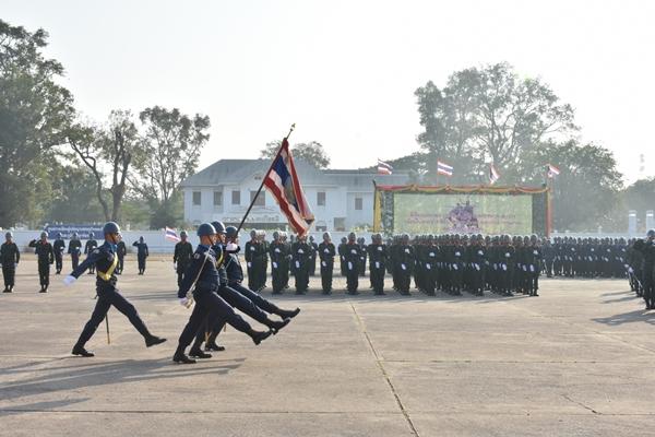 กองบิน ๒๑ ร่วมพิธีสวนสนามถวายสัตย์ปฏิญาณของทหาร – ตำรวจ เนื่องในพระราชพิธีบรมราชาภิเษก พุทธศักราช ๒๕๖๒ และวันกองทัพไทย
